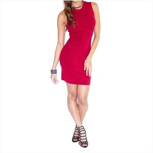 Dresses - Red Mini Dress